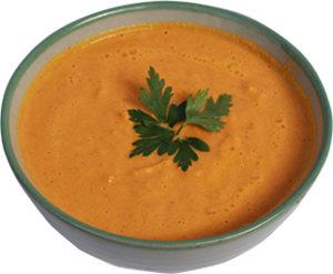 Сурова морковено-джинджифилова супа