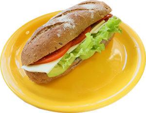 Сандвич с моцарела