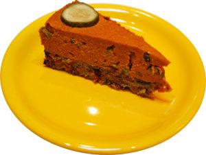 Salty vegan gluten-free cake