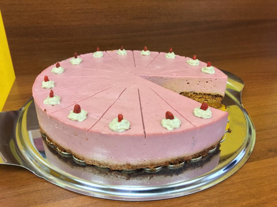 Торта с печен лимецов блат