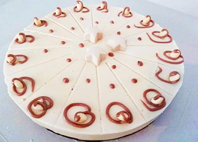 Веган торта Алмонд